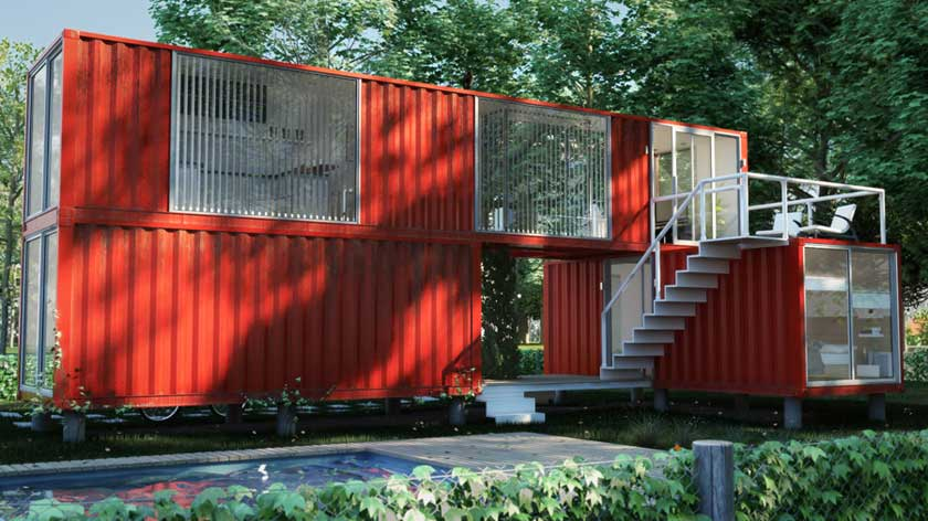 1000 images about casa container on pinterest shipping - Casa container espana ...